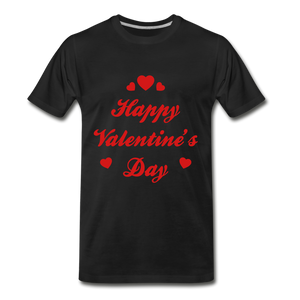 Happy Valentines day Tee - black