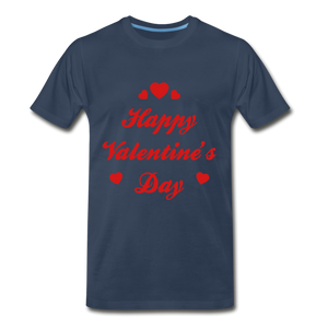 Happy Valentines day Tee - navy