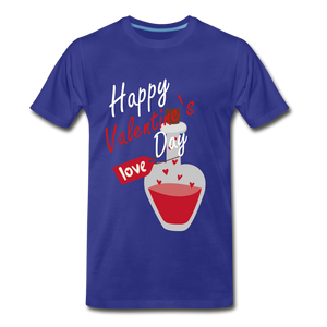 Happy Valentines Day Love Potion Tee - royal blue