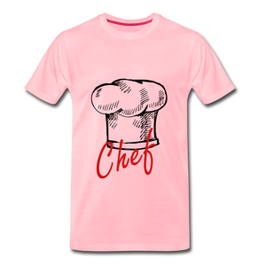 Chef Hat Tee - pink