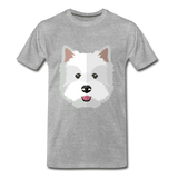 Pup Tee - heather gray