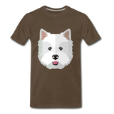 Pup Tee - noble brown