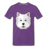Pup Tee - purple