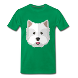 Pup Tee - kelly green