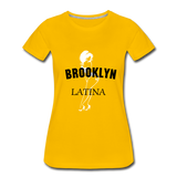 BK Latina Tee - sun yellow