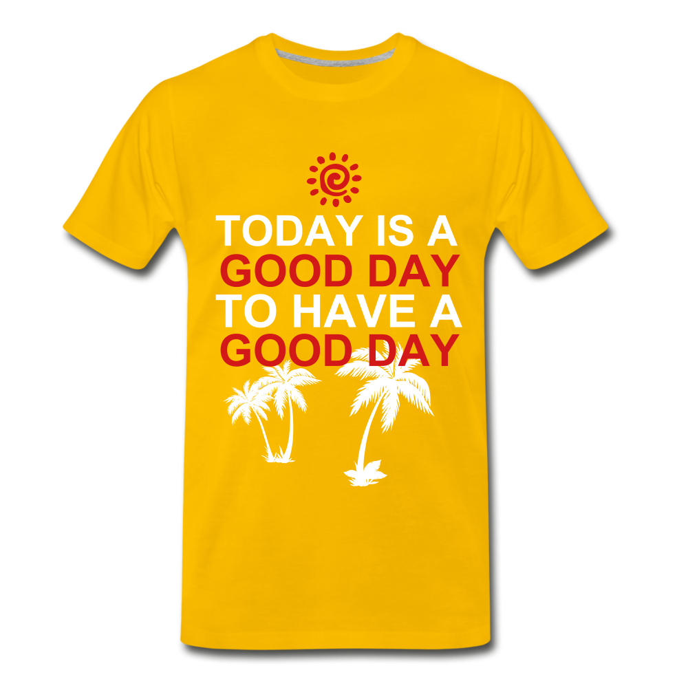Have a Good Day - sun yellow