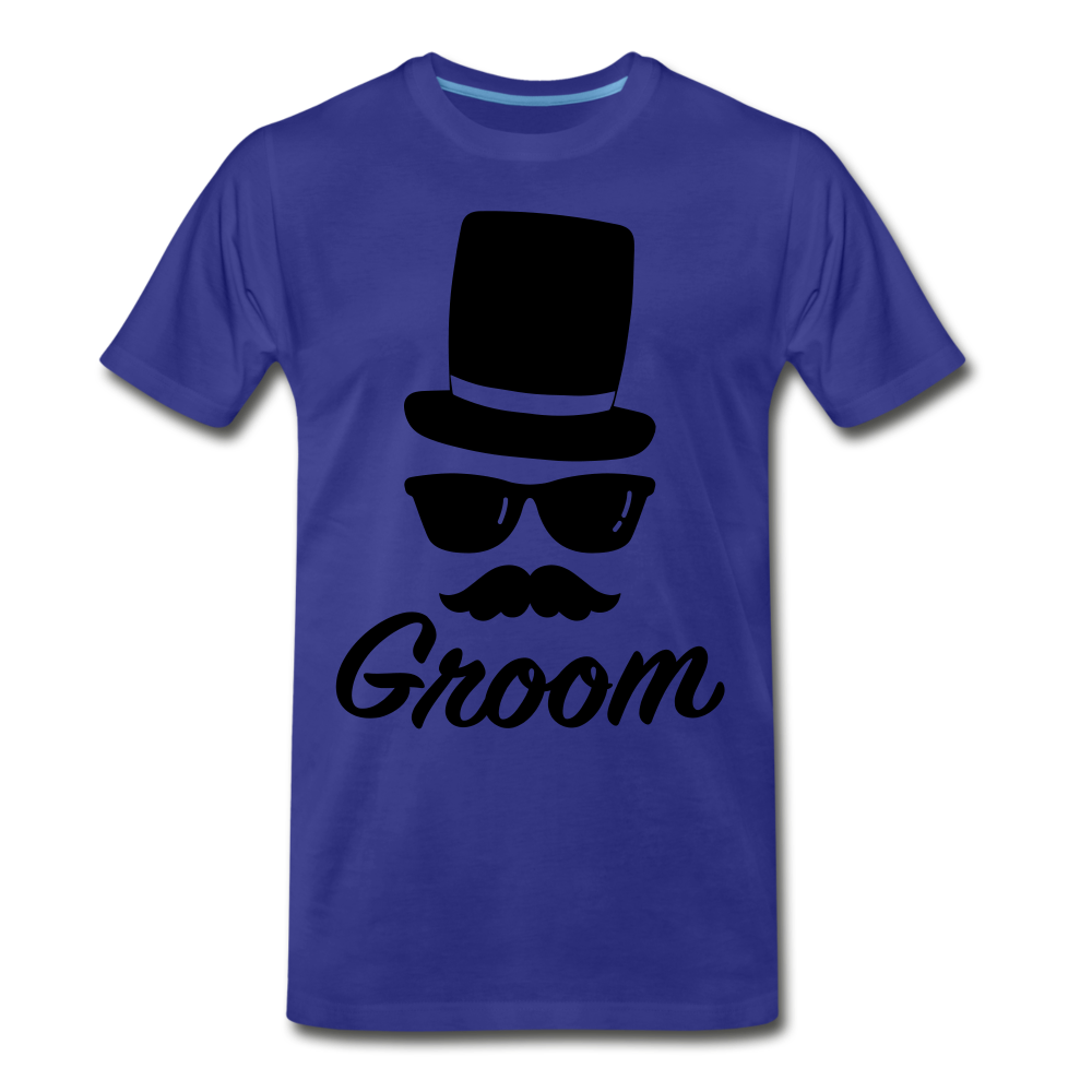 Groom Tee - royal blue
