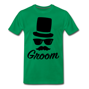 Groom Tee - kelly green