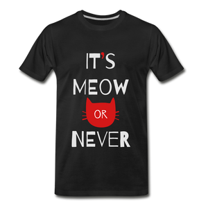 Meow Or Never - black