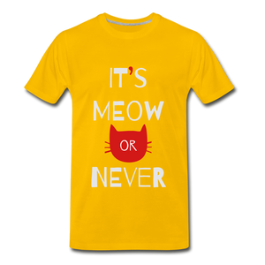 Meow Or Never - sun yellow