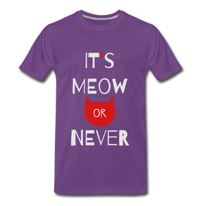 Meow Or Never - purple