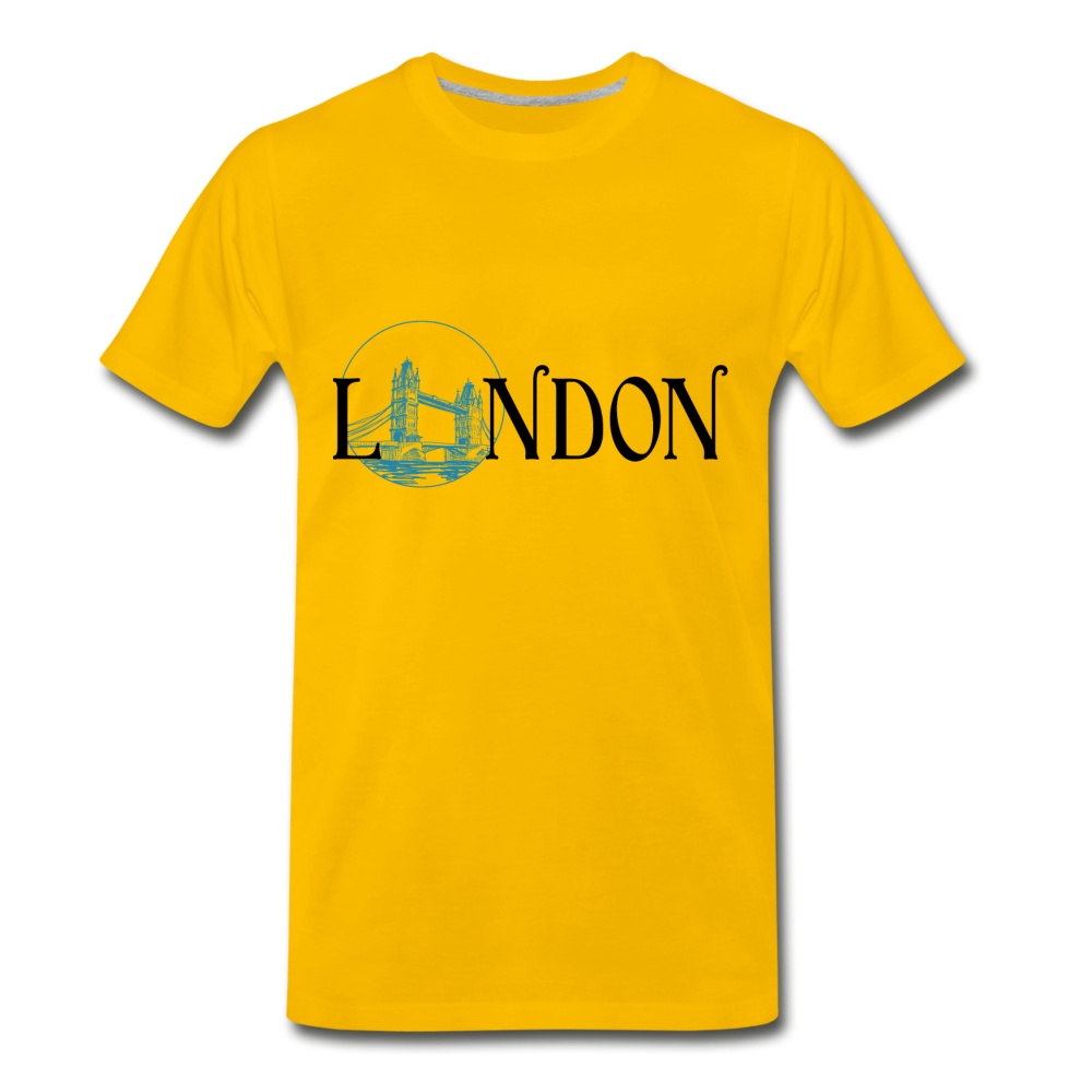 London Tee - sun yellow