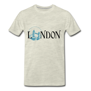 London Tee - heather oatmeal