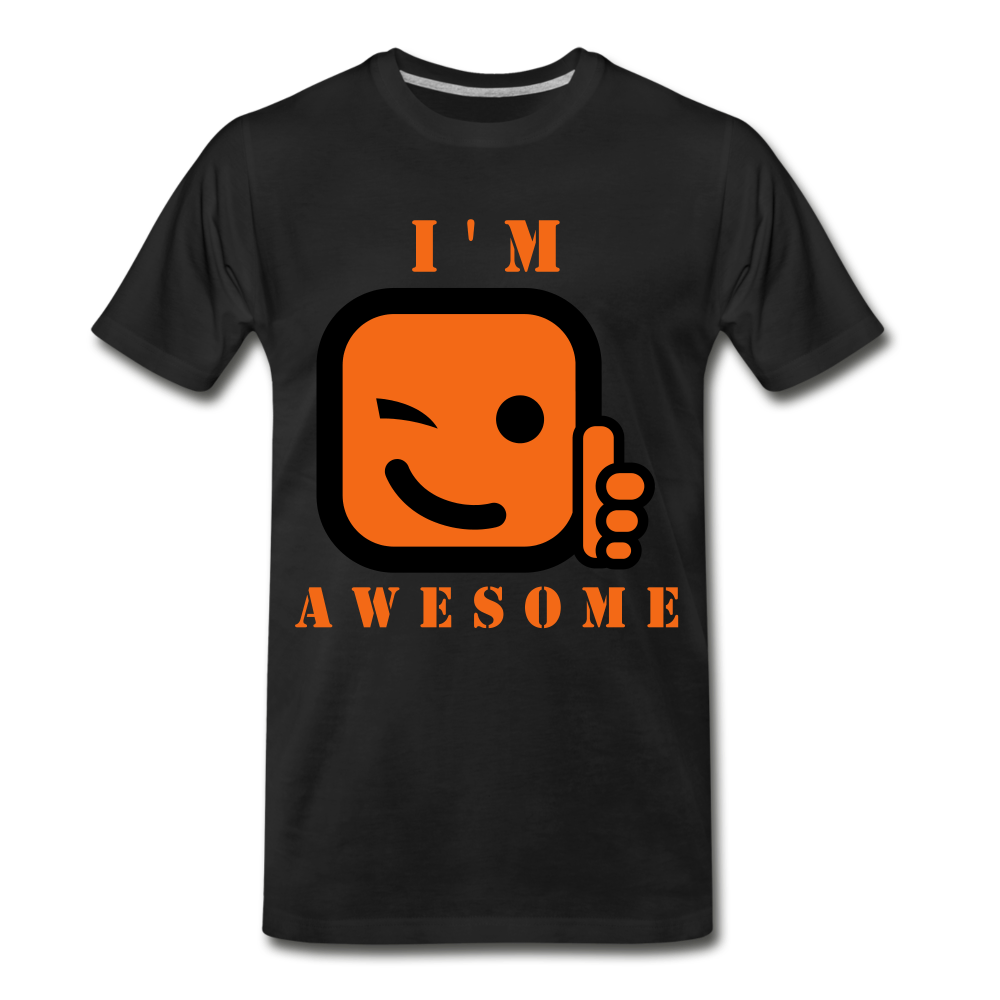 I'm Awesome - black
