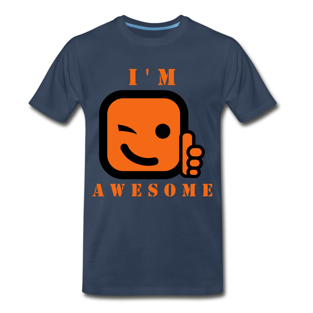 I'm Awesome - navy