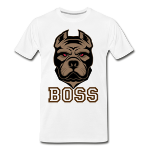 Boss Dog - white