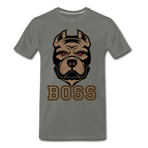 Boss Dog - asphalt gray