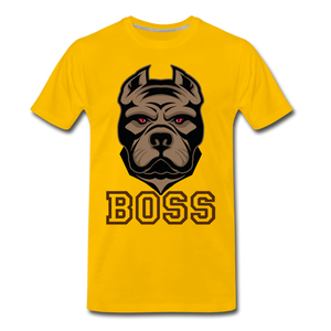 Boss Dog - sun yellow