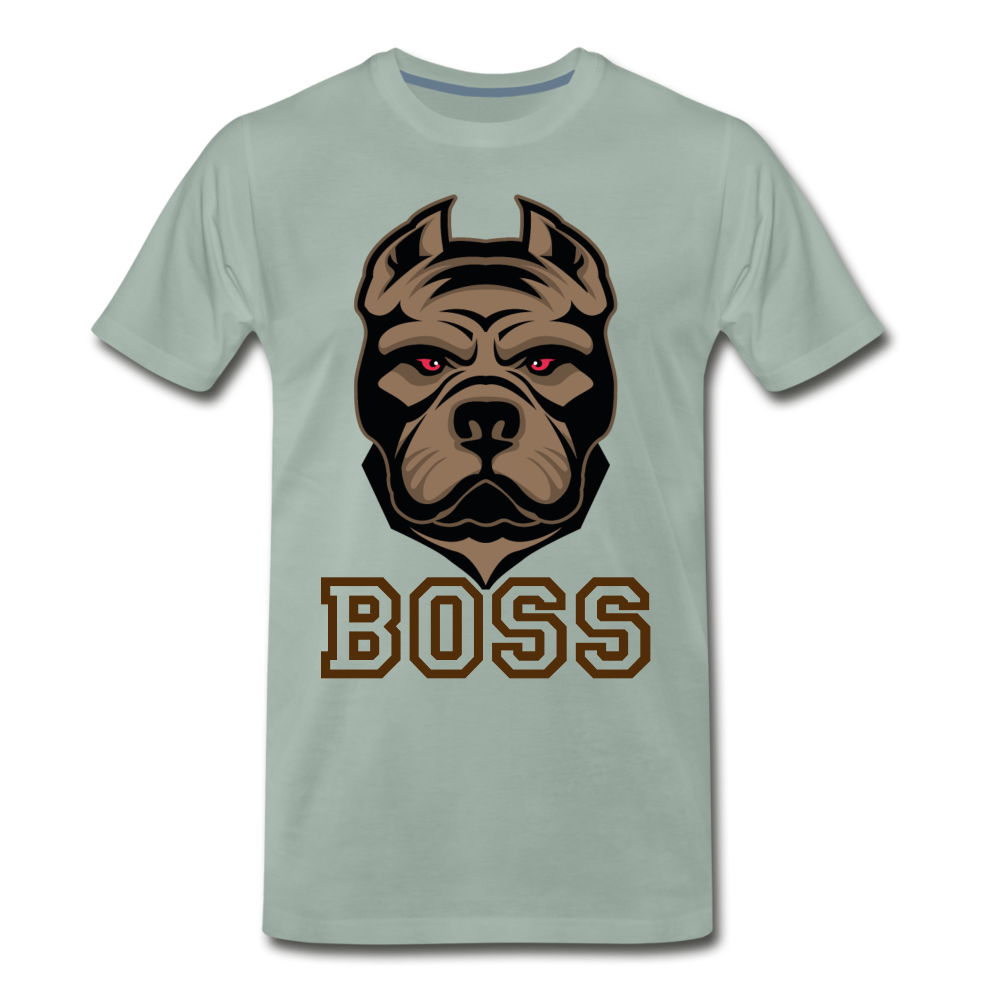 Boss Dog - steel green
