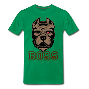 Boss Dog - kelly green