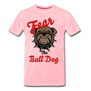 Fear The Bull Dog - pink