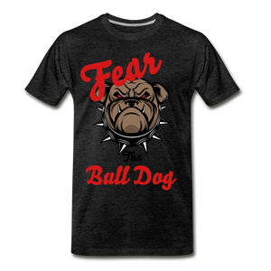 Fear The Bull Dog - charcoal gray