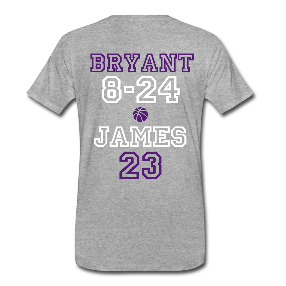KB TO LBJ LEDGENDS - heather gray