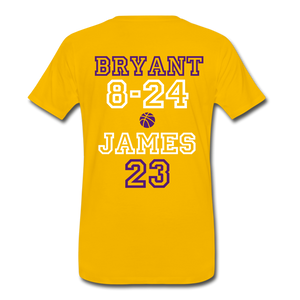 KB TO LBJ LEDGENDS - sun yellow