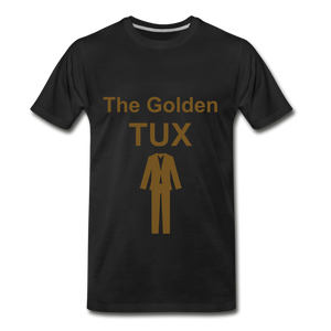 Golden Tux - black