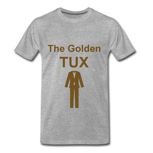 Golden Tux - heather gray