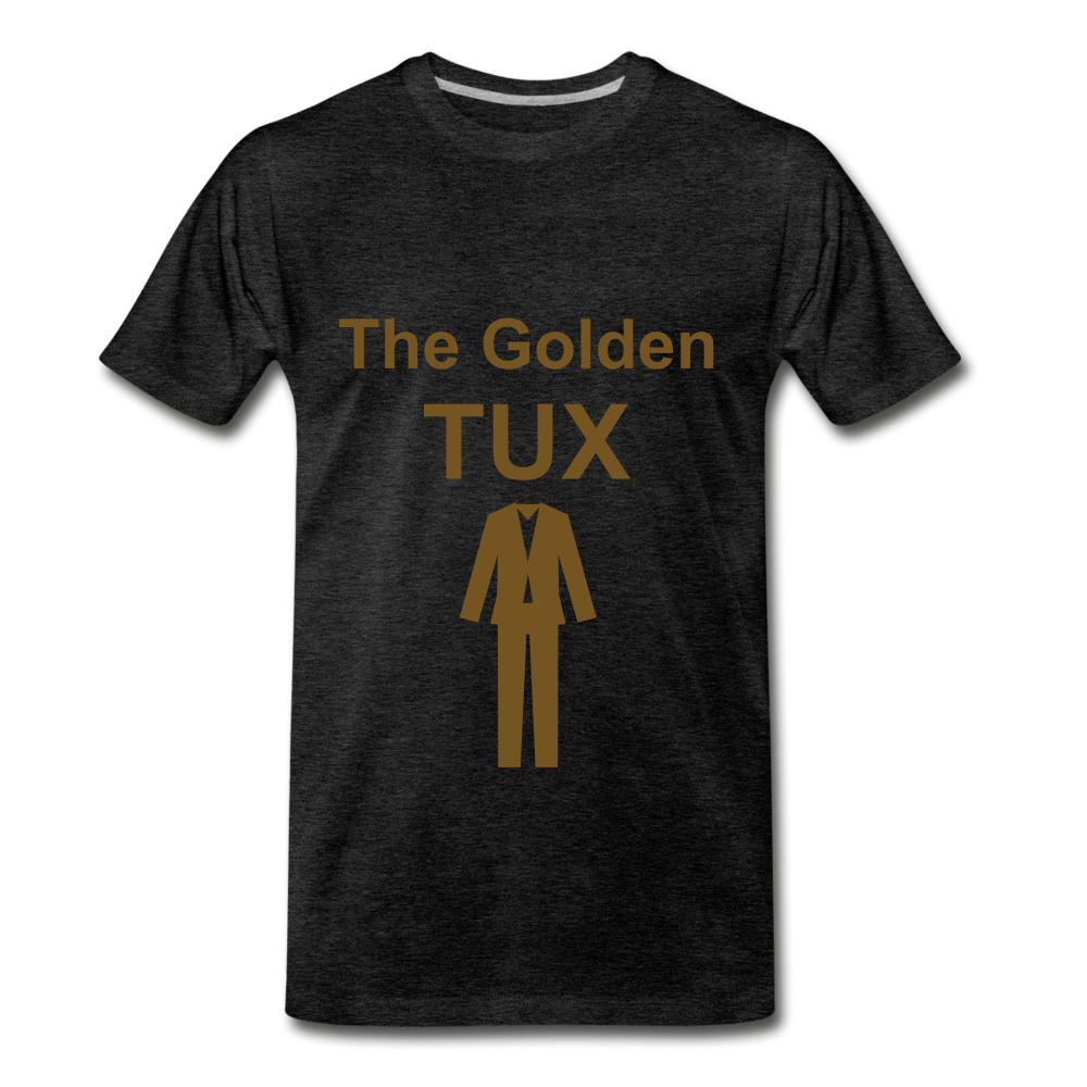 Golden Tux - charcoal gray