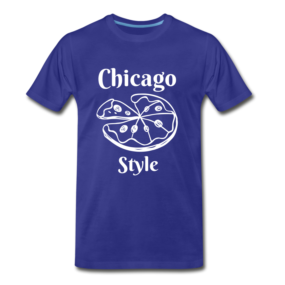 Chicago Style - royal blue