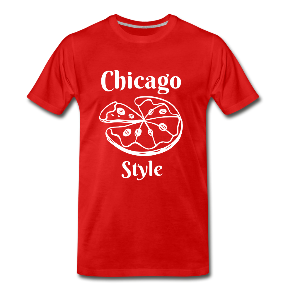 Chicago Style - red