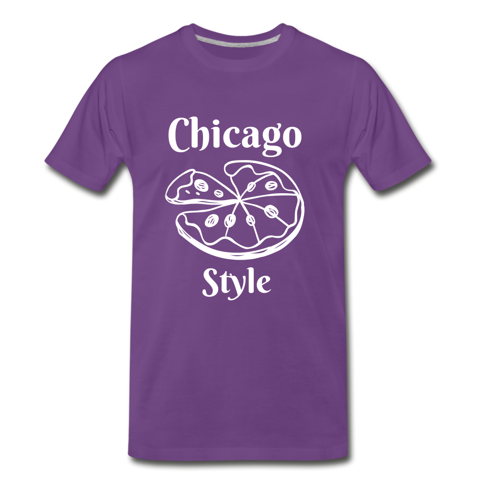 Chicago Style - purple