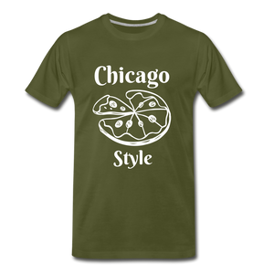 Chicago Style - olive green