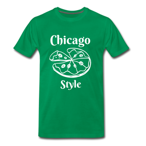 Chicago Style - kelly green