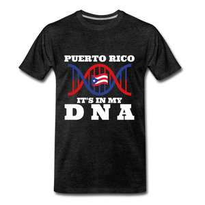 PUERTO RICO DNA - charcoal gray