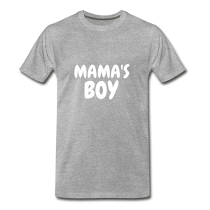 Mama's Boy - heather gray