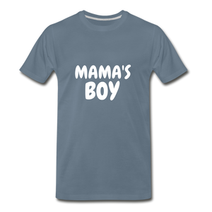 Mama's Boy - steel blue