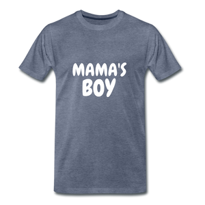Mama's Boy - heather blue
