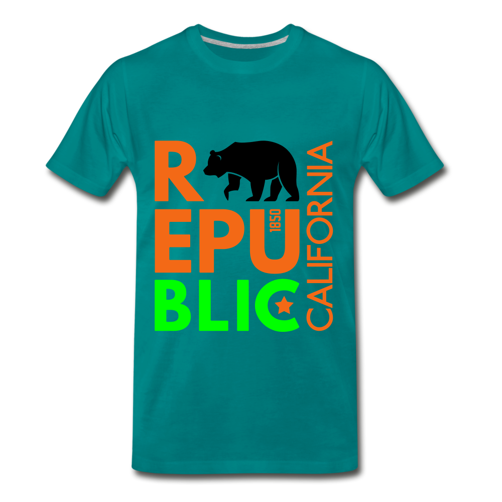 Republic of cali - teal