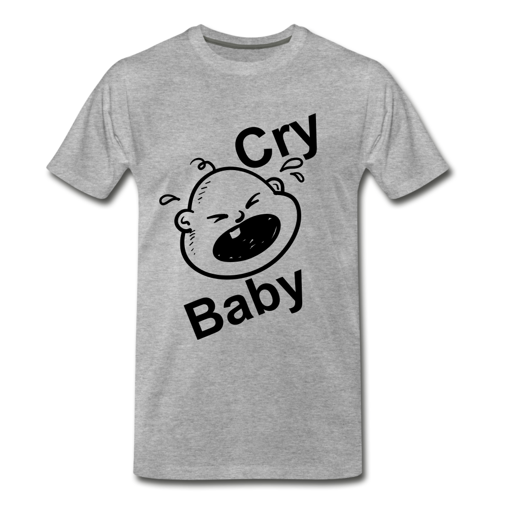 Cry Baby - heather gray