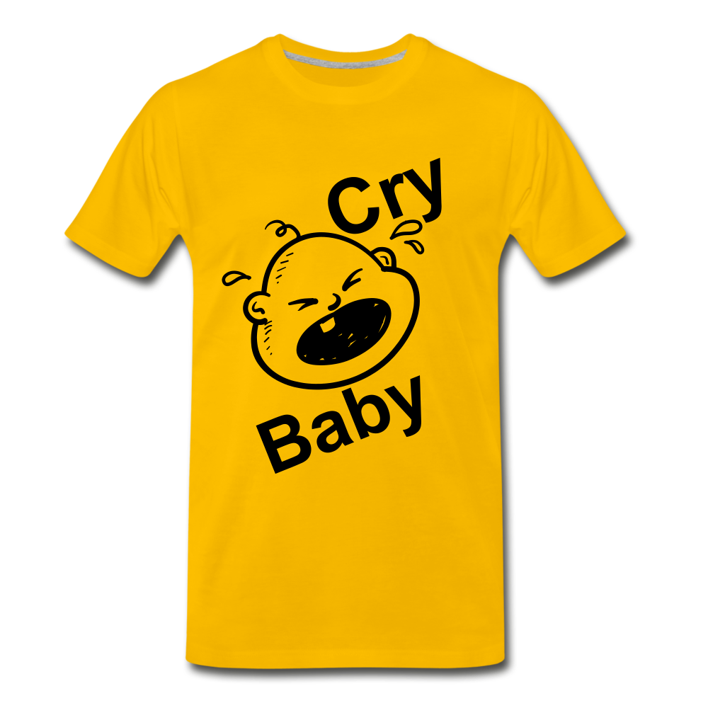 Cry Baby - sun yellow