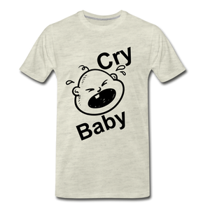 Cry Baby - heather oatmeal