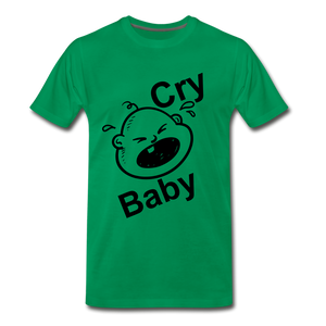 Cry Baby - kelly green