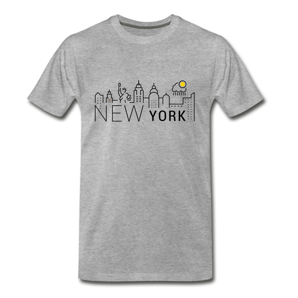 NEW YORK SHINE - heather gray