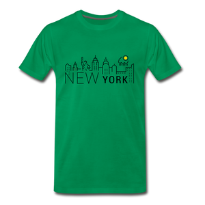 NEW YORK SHINE - kelly green