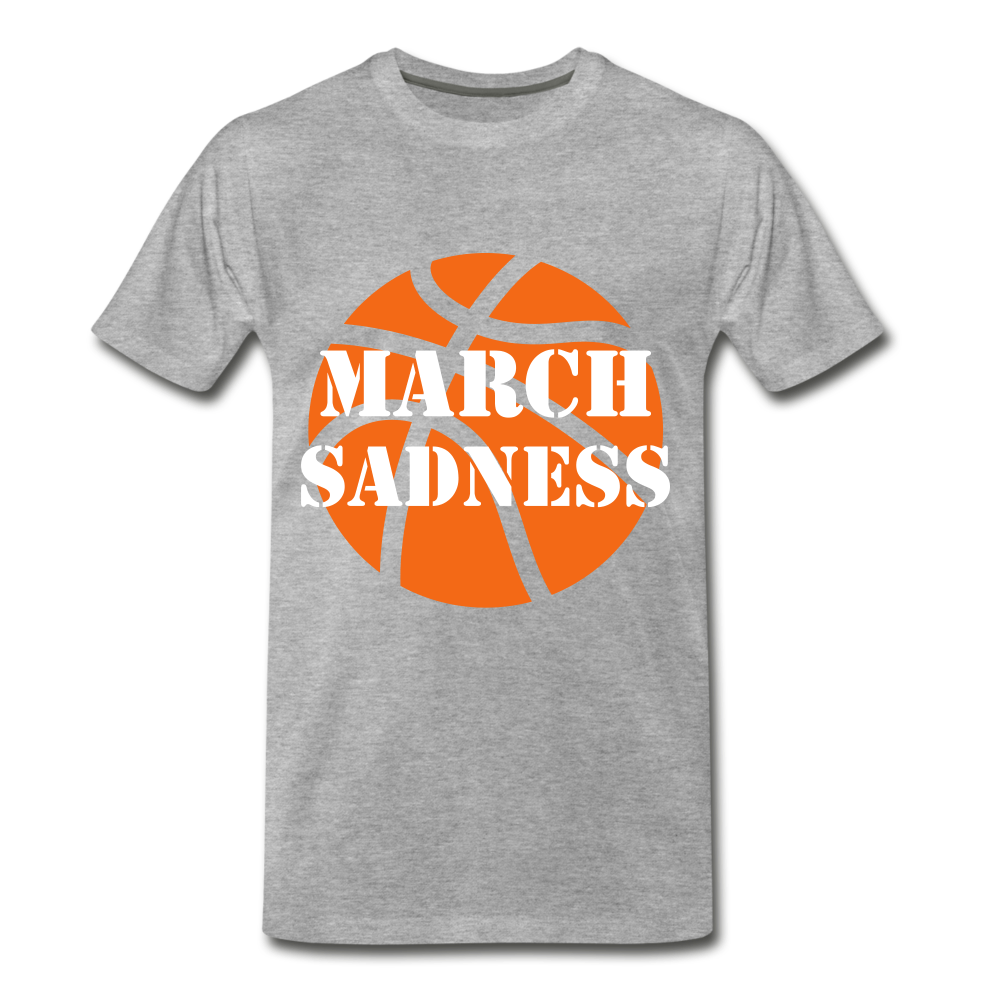 March Sadness - heather gray
