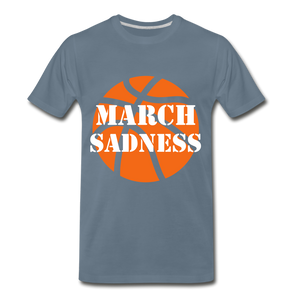 March Sadness - steel blue