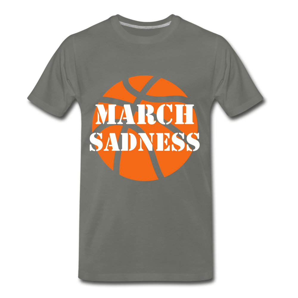 March Sadness - asphalt gray